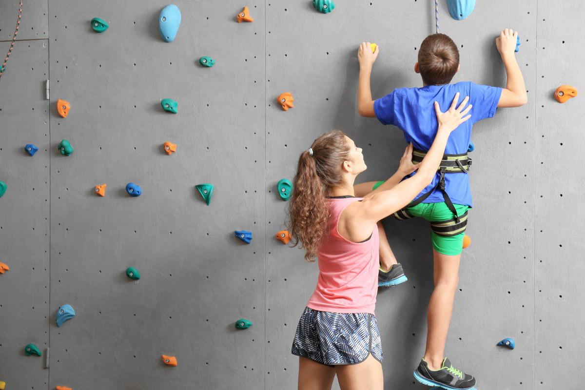 Kurzy lezení pro děti